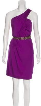 Trina Turk One-Shoulder Cocktail Dress
