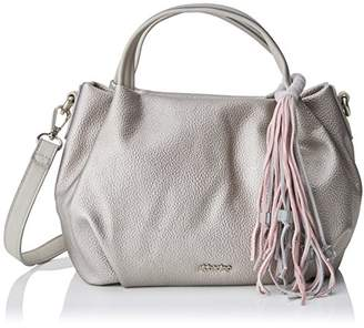 Abbacino Women's 80060 Top-Handle Bag Silver
