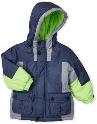 Osh Kosh B'gosh (Toddler Boys) Hooded Cargo Pocket Coat
