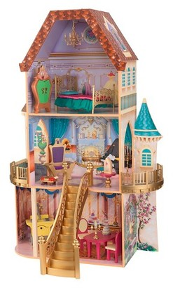 KidKraft Disney Beauty and the Beast Enchanted Dollhouse $109.99 thestylecure.com