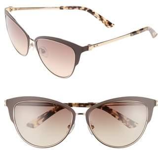 Calvin Klein 57mm Cat Eye Sunglasses