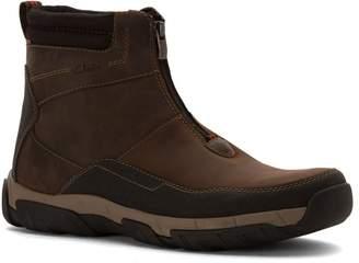 Clarks Men's Walbeck Rise Brown Waterproof Leather 9.5 W