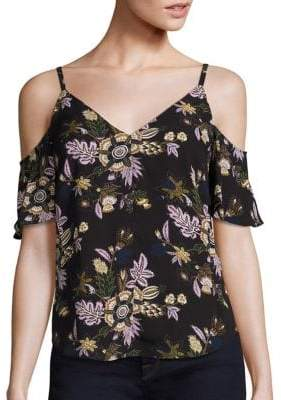 A.L.C. Olivia Cold Shoulder Top