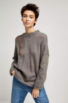 French Connection Isabelle Knit Laddered Jumper
