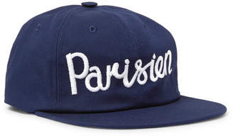 MAISON KITSUNÉ Embroidered Cotton-Blend Twill Baseball Cap