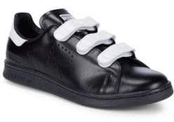 Adidas By Raf Simons Leather Low-Top Sneakers