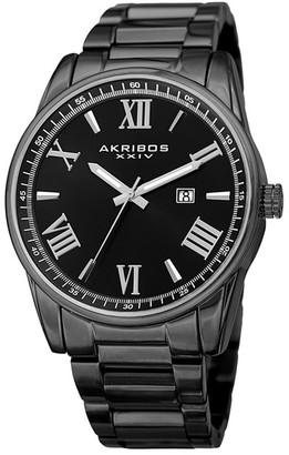 Akribos XXIV Men's Quartz Bracelet Watch $54.97 thestylecure.com