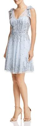 Aidan Mattox Embellished Bow-Detail Dress - 100% Exclusive