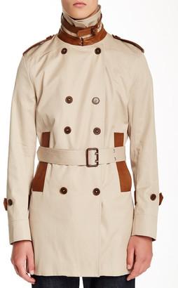 Sandro Modernist Long Sleeve Coat $845 thestylecure.com