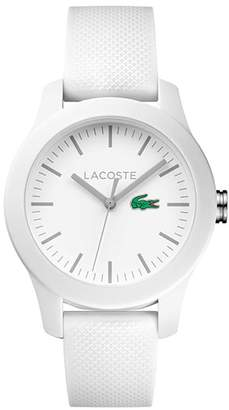 Lacoste Women's 12.12 White Rubber Strap