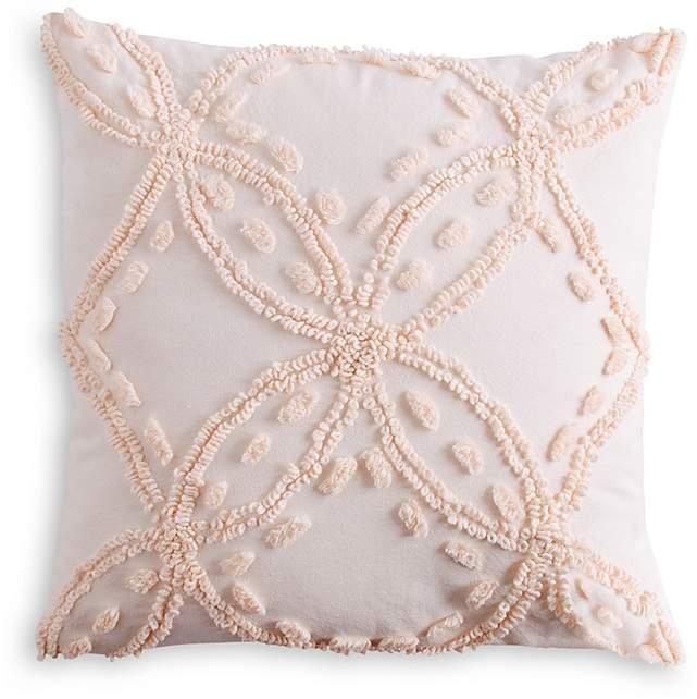 Peri Home Metallic Chenille Decorative Pillow, 18″ x 18″