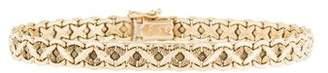 14K X Link Bracelet