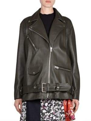 Acne Studios Oversized Leather Jacket