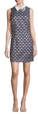 Trina Turk Queen Bee Jacquard Shift Dress $398 thestylecure.com