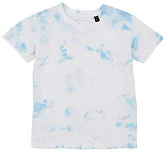 ATM Anthony Thomas Melillo Kids' Tie-Dyed Cotton T-Shirt - White