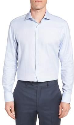 Ted Baker Harves Trim Fit Solid Dress Shirt