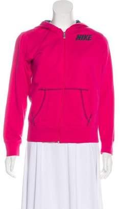 Nike Hooded Zip-Up Sweatshirt
