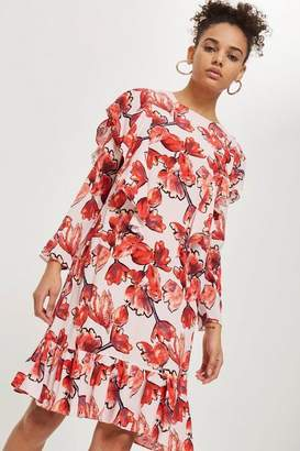 Topshop Yas Floral skater dress