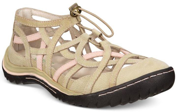 Jambu Women's Roman Adjustable Flats