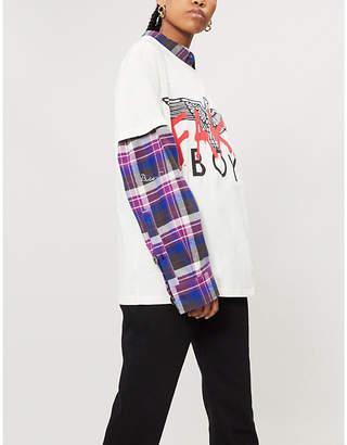 Boy London Fake cotton-jersey T-shirt