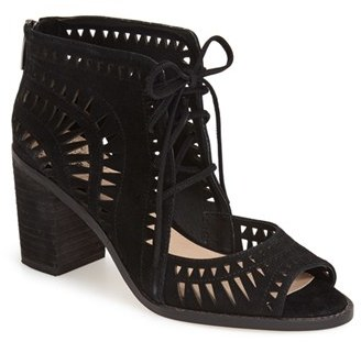Vince Camuto 'Tarita' Cutout Lace-Up Sandal (Women) (Nordstrom Exclusive) $128.95 thestylecure.com