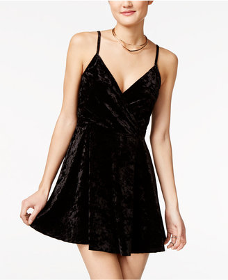 American Rag Velvet Fit & Flare Dress, Only at Macy's $49.50 thestylecure.com