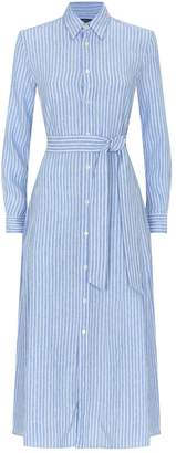 Polo Ralph Lauren Belted Stripe Shirt Dress