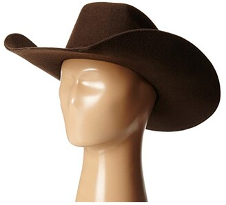 M&F Western Twister Wool Cowboy Hat w/ Flat Bow (Little Kids/Big Kids)