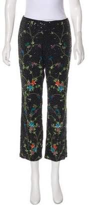 Dolce & Gabbana Mid-Rise Embellished Pants