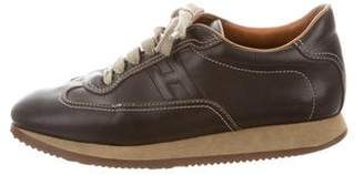 Hermes Leather Quick Sneakers
