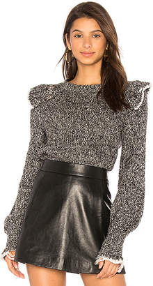 Wildfox Couture Gathered Sleeve Top