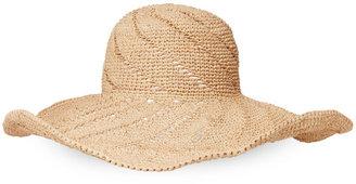 mar y sol Andia Crochet Sunhat $109 thestylecure.com