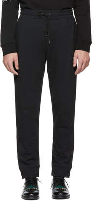 McQ Black Swallow Patch Lounge Pants