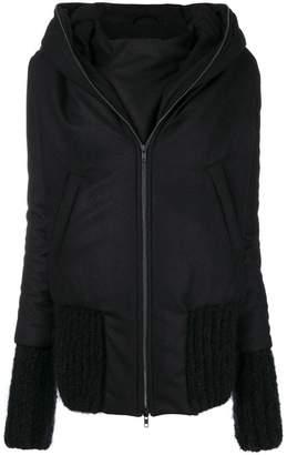 Ann Demeulemeester oversized double bomber jacket