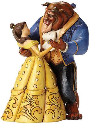 Disney Traditions Belle & Beast Dancing Figurine