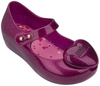 Mini Melissa Melissa Shoes Mini Ultragirl Heart Mary Jane Flat