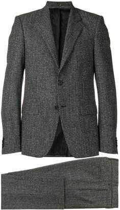 Givenchy check bouclé suit