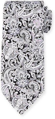 Stefano Ricci Fancy Paisley-Print Silk Tie $275 thestylecure.com