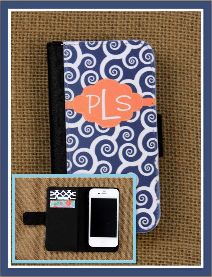 Etsy Wallet Case iPhone 8 7 Plus 5 6 6+ 6 Plus Samsung Galaxy 3 4 and 5 S3 S4 S5 Case Cell Phone Accessor