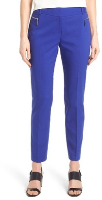 Women's Chaus Dena Zip Pocket Crop Pants $69 thestylecure.com