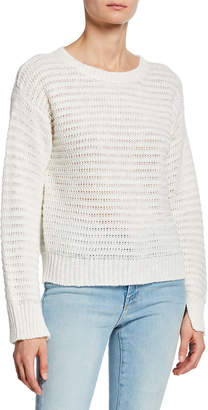 Joie Jayn Casual Crochet Sweater