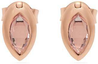 Rosegold MARIE MAS Amethyst, topaz & 18kt rose-gold earrings