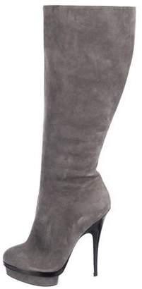 Saint Laurent Knee-High Platform Boots
