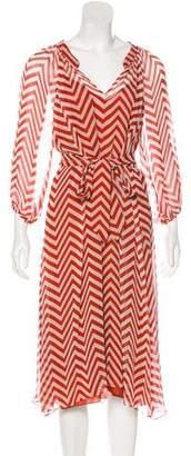 Mason Silk Midi Dress