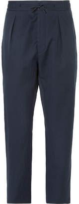 Fendi Linen and Cotton-Blend Trousers