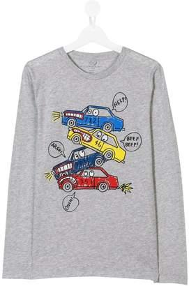Stella McCartney car print T-shirt