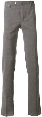 Pt01 creased straight leg trousers