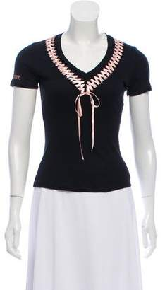 John Galliano Casual Lace-Up Top w/ Tags