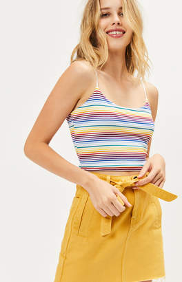 Proenza Schouler Basics By Pacsun Easy Ribbed Cropped Cami Top