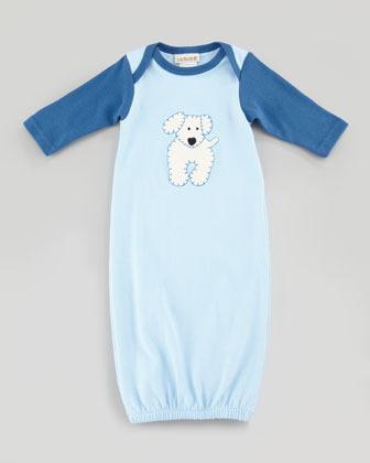 cachcach New Born Boy's Best Friend Sleep Sack, Blue, One Size